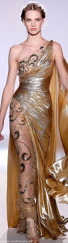 Zuhair Murad Haute Couture | S/S 2013. Minus the whole nude aspect...