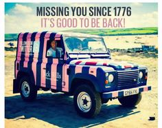 Missing you since 1776