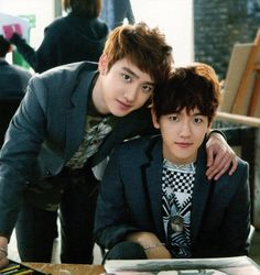 Imagen de exo, baekhyun, and d.o