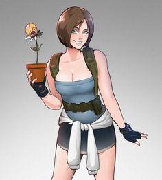 Resident Evil Video Game, Resident Evil Anime, Valentine Resident Evil, Resident Evil Girl, Resident Evil 3 Remake, Alita Battle Angel Manga, Dino Crisis, Joker Poster, Arte Cyberpunk