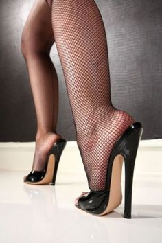 Feet n Stilettos n Fishnet Stockings to Crave !!!!!!