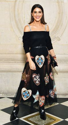 See all the incredible celebrity looks that graced the shows of Paris Fashion Week.