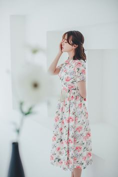 Modern Hanbok, Traditional Fashion, Esty, Korea, Romantic, Flower, Trending Outfits, Unique, How To Wear