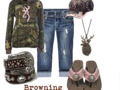 Country girl outfit:) except without the flipflops