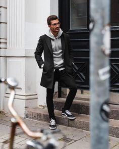 47 Cool And Casual Mens Fall Fashion Outfits Ideas Mens Fall Outfits, Fall Fashion Outfits, Autumn Fashion, Men's Outfits, Fashion Poses, Casual Outfits, Casual Wear, Men Casual, Dress Casual