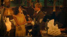 Marion Cotillard dans une robe années 20 pour le film Midnight in Paris