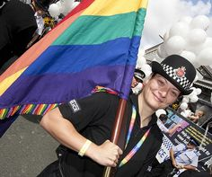 Manchester saw officers and staff from 17 police forces and policing organisations walking as Police with Pride in the Manchester Pride Parade on Saturday 25th August 2012.    Officers and staff from across the country lead the parade as Greater Manchester Police (GMP) celebrated its 10th anniversary of taking part in the parade.      To find out more about Greater Manchester Police please visit our website.  www.gmp.police.uk