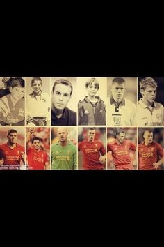 When They Were Young - Steven Gerrard, Luis Suarez, Pepe Reina, Daniel Agger, Jamie Carragher & Martin Skrtel
