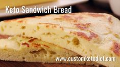Easy Keto Sandwich Bread Recipe - light, fluffy keto white bread perfect for slicing that toasts beautifully and makes a perfect low carb bread! keto meal plan, keto fat loss, weight loss keto diet , keto diet weight loss tips. Free Keto Recipes, Low Carb Recipes, Diet Recipes, Diet Meals, Keto Foods, Healthy Foods, Keto Carbs, Keto Fat, Ideas Sándwich