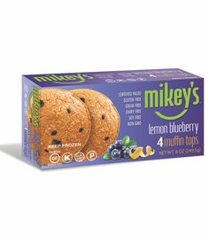 Mikey's Muffins are paleo friendly english muffins that contain no gluten, grain, dairy or soy.