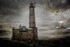 Gloomy atmosphere - The haunted lighthouse