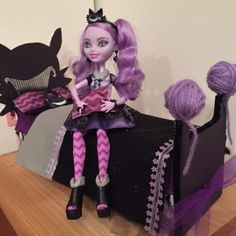How I Made A Bed For My Ever After High Kitty Cheshire Doll