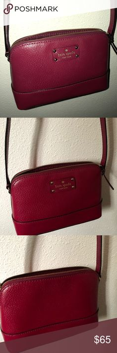 Kate spade cross body Small, color as pictured! kate spade Bags Crossbody Bags