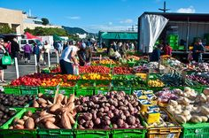 Wellington Market, New Zealand, 13 Dec. 2009 by PhillipC, via Flickr