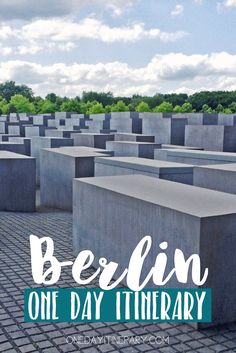 Berlin, Germany - One day itinerary