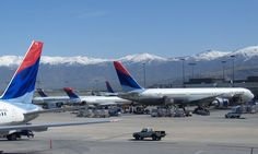 Love my Delta Airlines with a Hub in Salt Lake City