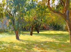 In the garden - Peter Bezrukov