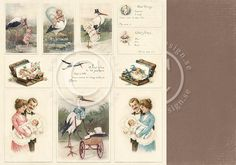 """Pion Design - Sweet Baby Collection - 12""""x12"""" Double Sided Paper - Images,$1.99"""