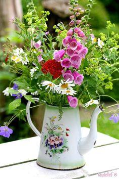 Chá com flores!: