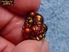 A wonderfully bright and colorful Arizona Fire Agate gemstone nodule. I named this piece 'The Thing since it reminded me of Howard Imboden's original 'The Thing', although his was much more amazing. This piece is not for sale. Minerals And Gemstones, Rocks And Minerals, Wonder Red, Agate Jewelry, Beautiful Rocks, Moss Agate, Rocks And Gems, Agate Gemstone, Gem Stones