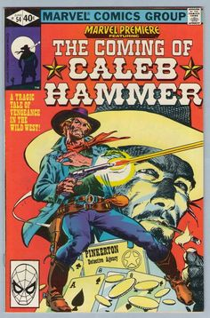 Marvel Premiere 54 1st Caleb Hammer