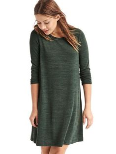 Long sleeved swing dress- looks totally comfy