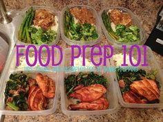 FOOD PREP 101. Tips to prepping your food for the week to stay on track of your diet and weightloss
