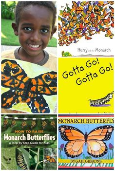 Monarch Butterflies Kids Resources- books, videos, web sites, art, and more! Learn all about their migration and life cycle. Butterfly Books, Butterfly Kids, Butterfly Life Cycle, Butterfly Birthday, Butterfly Crafts, Monarch Butterfly, Butterfly Migration, Kids Around The World, Good Day Song