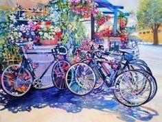 "Pedals to Petals (22"" x 30"") Catherine Hillis"