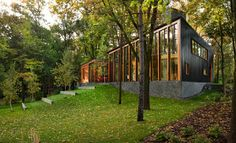 Farquar Lake Residence - contemporary - Exterior - Minneapolis - ALTUS Architecture + Design