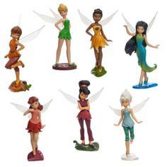 Låt leken börja med de här figurerna från Älvdalen. Set med sju statiska figurer som föreställer Tingeling och hennes vänner med fina detaljer och genomskinliga vingar.