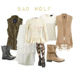 """""""Bad Wolf - The Day of the Doctor"""" by a-geeks-fashion on Polyvore"""