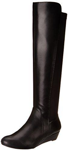 Jessica Simpson Women's Joline Riding Boot, Black, 8.5 M US