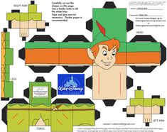 Dis10: Peter Pan Cubee by TheFlyingDachshund