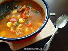 Zupa gulaszowa z pieczoną papryką | Oryginalny smak