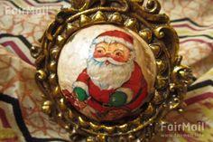 Vintage Santa Clause Ornament Photographed by Akaash Ram - India - FairMail - Fair Trade Photos - IAKR-0256