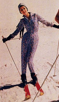 Emilio Pucci ski suit Emilio Pucci ski suit,★ Vintage ★ Winter ★ Emilio Pucci ski suit Related posts:A Guide to Singapore's Top 10 Photo Locations Emilio Pucci, Vintage Ski, Vintage Glamour, Ski Fashion, 1950s Fashion, Apres Ski Party, Vintage Sportswear, Winter Suit, Ski Wear