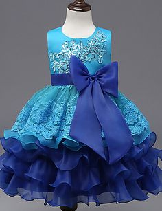 24.93  Chica Floral   Lazo Noche Estampado Sin Mangas Vestido. Baby Girl  Dresses FancyKid DressesTutu DressesRobes TutuDress ... 03f7b9d70533