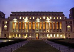 Butler Library, Columbia, Can I live in this library please!