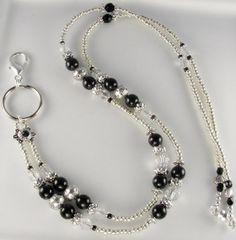 Pearl Beads, Pearl Jewelry, Beaded Jewelry, Beaded Bracelets, Beaded Necklace, Jewlery, Do It Yourself Jewelry, Beaded Lanyards, Id Badge Holders