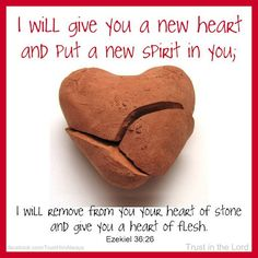 Ezekiel 36.26  {I Pray & Petition for a New Heart for Joseph Butros in JESUS Name*Amen}