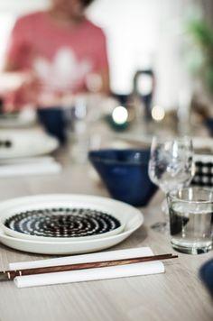 Sushi osa I – Nordic Atmosphere marimekko astiasto