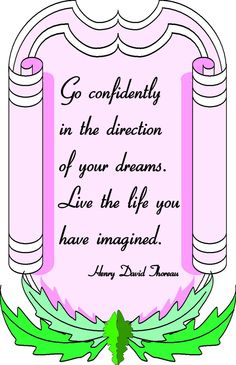 Live your life with #inspiration.
