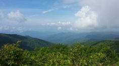The view from Rocky Top, Tennessee--Thunderhead Mountain on the Appalachian Trail. Heaven on Earth!