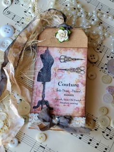 Parisian Inspired Gifts...couture