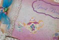 Wedding Guest Book  Vintage tea...theme  20 by youruniquescrapbook, £69.99