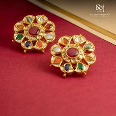 Picture from Balkishan Dass Jain Jewellers Photo Gallery on WedMeGood. Browse more such photos & get inspiration for your wedding Jewellery Sketches, Studs, Bling, Brooch, Jewels, Chandigarh, Album, Inspiration, Jewelry Sketch