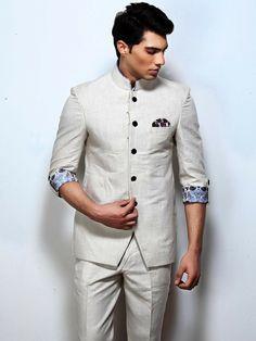 Stylish Men's Wedding Dresses Designs 2015 Wedding Dresses Men Indian, Wedding Dress Men, Wedding Men, Wedding Suits, Indian Men Fashion, Mens Fashion Wear, Men's Fashion, Prince Suit, Indian Groom Wear