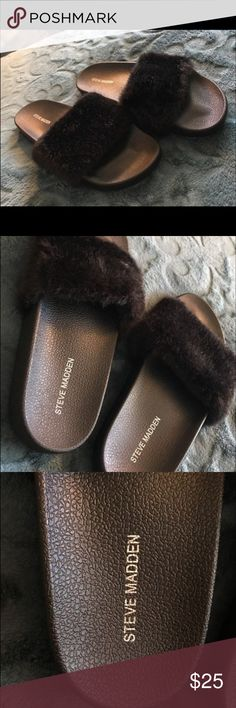 0eef0c978e5 20 Best Fuzzy slides images in 2018 | Shoes, Sandals, Cute shoes