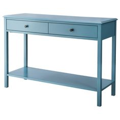 """$120 Target- Like the idea of introducing another color-  detail says the color is teal- style is very simple. 30.0 """" H x 44.0 """" W x 15.7 """" D"""